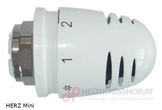 HERZ Thermostatkopf Mini M28x1,5
